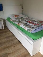 IKEA Malm Bett weiß mit