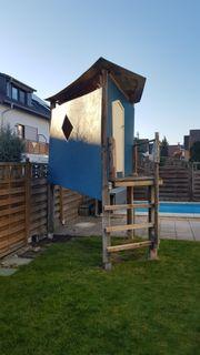 Kinder-Spielhaus Baumhaus Stelzenhaus