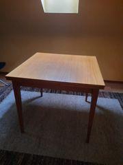 Holztisch 84x84 cm ausziehbar Für