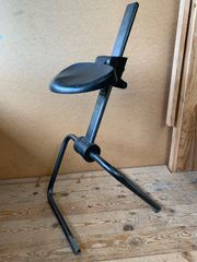 Anlehn Bügelstuhl