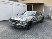 Mercedes 420SEC Klima neu V8