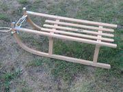 Holzschlitten für Kinder zum Sommerpreis