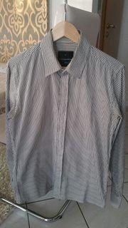 Nadelstreifen Hemd Slim Fit und