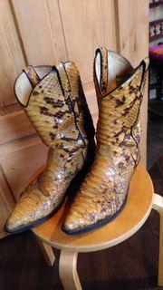 Cowboystiefel Schlangenleder