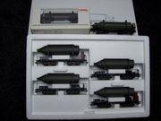 Märklin H0 48250 Wagen-Set Carbid-Flaschenwagen