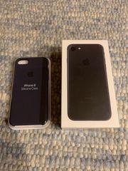 iPhone 7 Black mit Schutzhülle