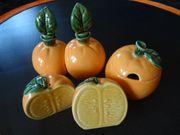 Wunderschönes Set Orange Garden von