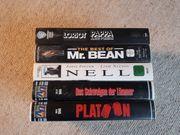 Originalfilm-VHS Videokassetten 5 Stück