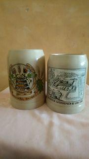 Zwei seltene Bierkrüge - Limitierte Auflagen