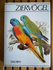 Buch über Ziervögel