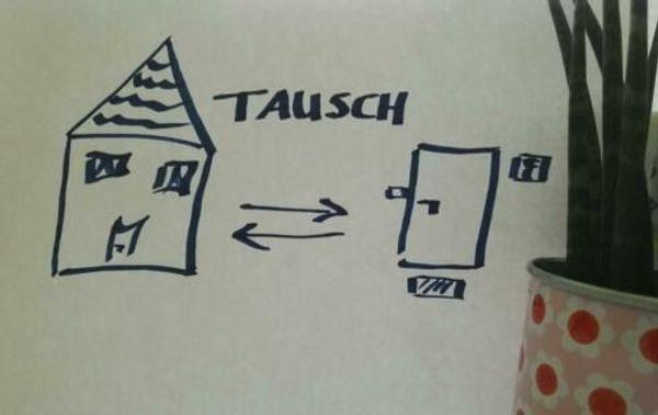 Haus gesucht - Wohnung zum Tausch -