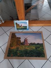 Puzzle Windmühle an der Ostsee