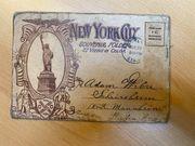 Postkarte New Yor City 1920er