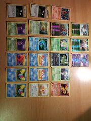 Pokemon Pokemon Holo Glitzer 1st