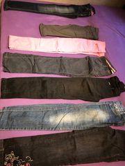 Mädchen Damen Jeans 152 158