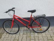 Fahrrad Damen Mountainbike Rot 26