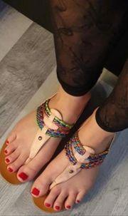 Traumhaft schöne Füße
