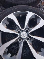 4 Originale Alufelgen für Nissan