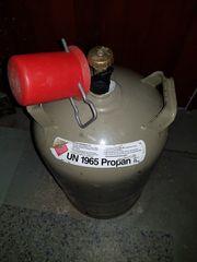 11KG graue leere Gasflasche Eigentumsflasche