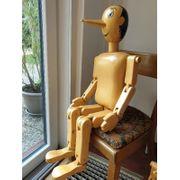 Pinocchio aus Holz 100cm hoch