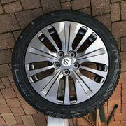 Komplettrad Suzuki Al-Felge und Reifen
