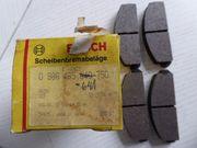 Bosch 0986465640 0986465641 Satz Bremsbeläge