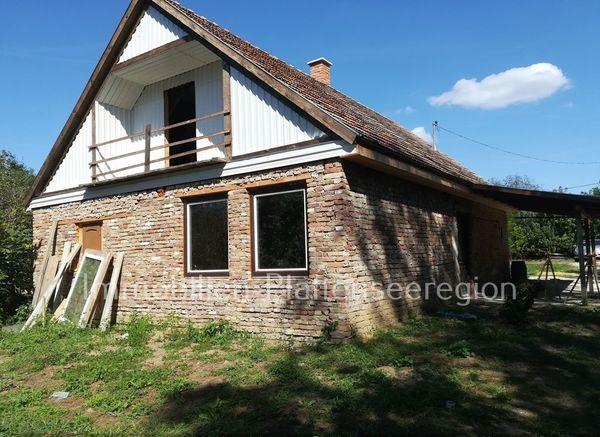 Haus-Rohbau Ungarn Balatonr Grdst 3