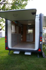Wohnwagen mieten Knaus Deseo Transport