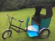 Rikscha Fahrrad Taxi Rikshaw