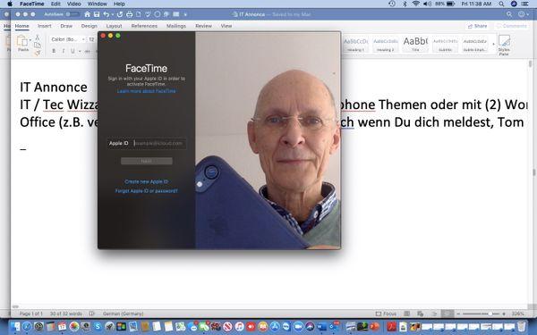Mac Iphone oder Office Wizzard