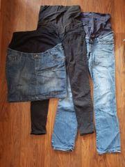 Umstandshosen Jeansrock Größe 40 Schlafanzughose