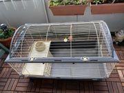 Kaninchenkäfig Nagerkäfig mit Zubehör