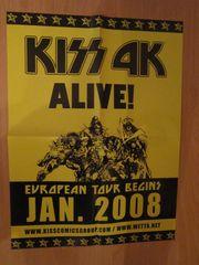 Kiss - Poster - 41cm x 29 5cm