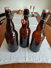 2-Liter-Glasflaschen mit Bügelverschluss