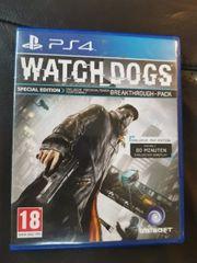 Ps4 Spiel Watch Dogs