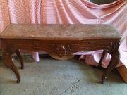 barocker Marmor-Tisch Garderobenablage Beistelltisch