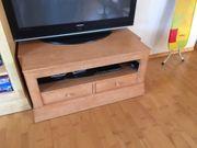 Lowboard TV Schrank Pinie massiv