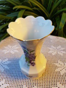 Glas, Porzellan antiquarisch - Neuwertige wundervolle nostalgische Vase von