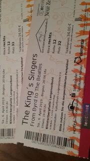 2 Tickets King s Singers