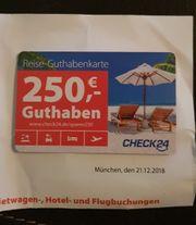 Gutschein für Reisen check24