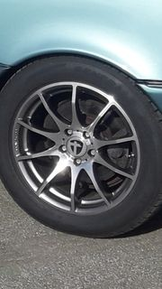 17 Zoll Alufelgen mit Reifen