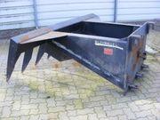 MERLO Abräum-Silage-Harke 1600 mm Reißzahn