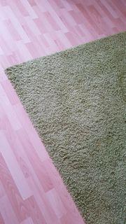 Teppich zu verschenken neu lindgrün