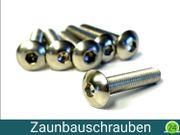 5 x 100 Zaunbauschrauben M8x40mm