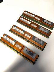 4x 2 GB Ram für