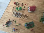 Playmobil Großer Pferdehof mit Springreitanlage