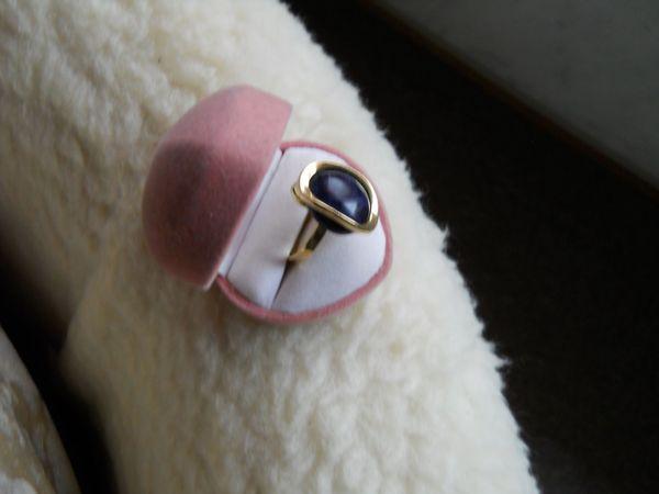 schicker Lapizlazuli Ring