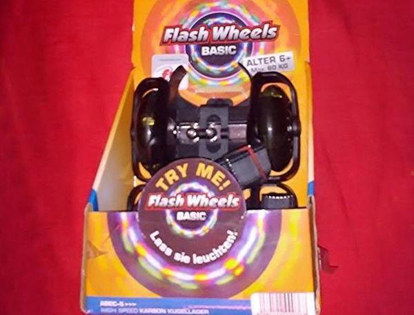 Flash Wheels Fersenroller