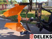 DELEKS® DRHP-35 Drehpflug Beetpflug hydraulisch