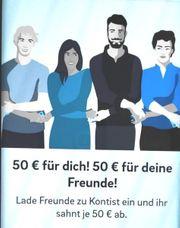 50 Euro schenken lassen für